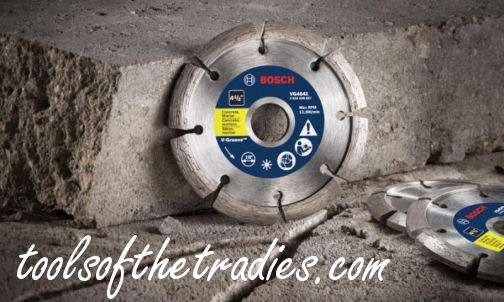 Bosch V-Groove Diamond Blades Tools of the Tradies