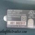 Bosch MX30EL-37 Tools of the Tradies 10