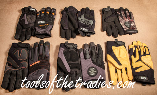 Klein Gloves Tools of the Tradies