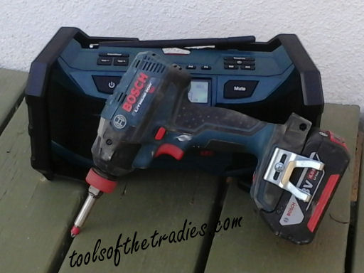 Bosch PB180 18V Stereo Tools of the Tradies 2