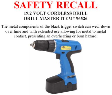 hf drill recall